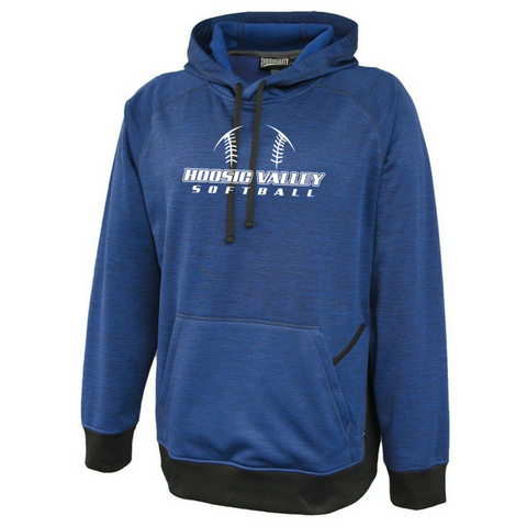 Hoosic Valley Softball Heather Performance Hoodie- 2 Colors