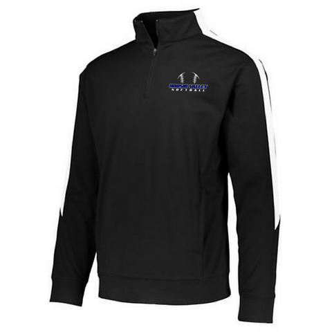 Hoosic Valley Softball Performance 1/4 Zip- Youth, Ladies, & Men's, 3 Colors