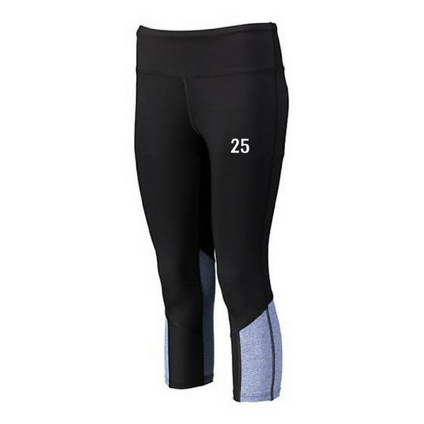 Hoosic Valley Softball Spandex Capris- Girls & Ladies, 2 Colors