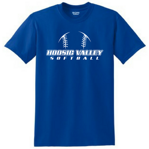 Hoosic Valley Softball Tee- Youth & Adult, 3 Colors