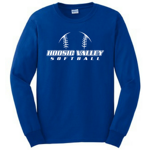 Hoosic Valley Softball Long Sleeve Shirt- Youth & Adult, 3 Colors