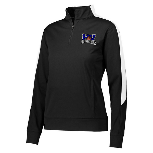 HV Basketball Two-Tone Performance 1/4 Zip- Youth, Ladies, & Men's, 2 Colors