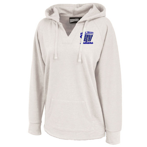 Hoosic Valley Ladies V-Neck Hoodie- 3 Colors