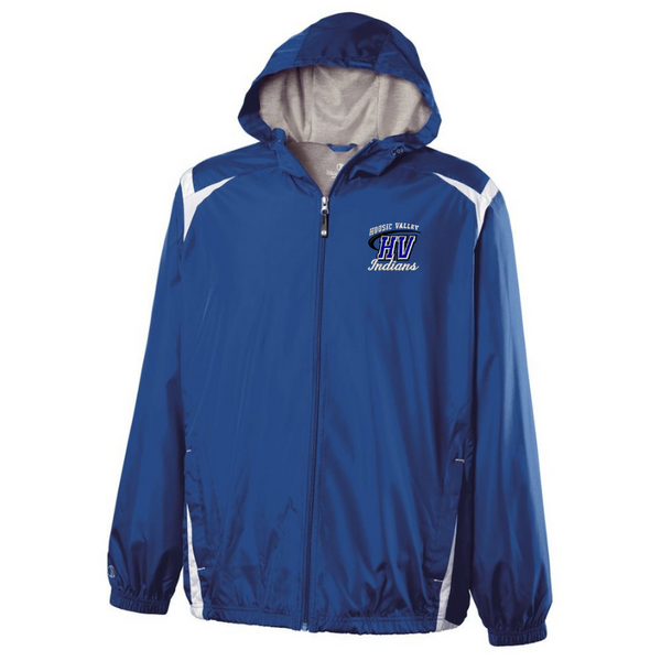 Hoosic Valley Hooded Full Zip Lightweight Jacket- Youth & Adult, 2 Colors