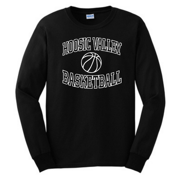 HV Basketball Long Sleeve T-Shirt- Youth & Adult, 2 Colors