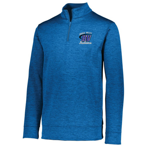 Hoosic Valley 1/4 Zip Heather Performance Pullover- Ladies & Men's, 3 Colors