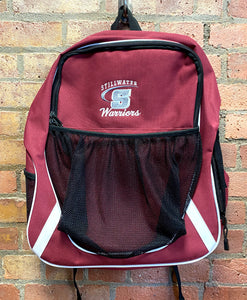 CLEARANCE- Stillwater Warriors  Backpack