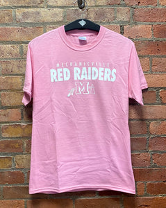 CLEARANCE- Mechanicville Pink Raiders T-shirt