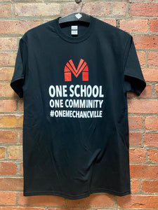 CLEARANCE- One School One Community T-shirt