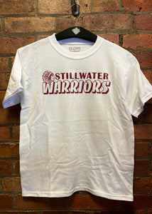 CLEARANCE- Stillwater Warriors T-shirt- Youth & Adult