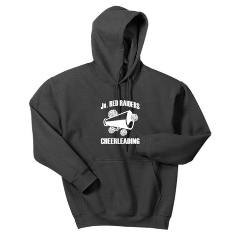 Jr Red Raiders Cheerleading Hoodie- Youth & Adult, 3 Colors