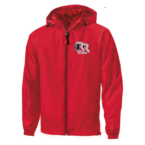 Jr Red Raiders Football Hooded Full-Zip Jacket- Youth, Ladies, & Adult, 2 Colors