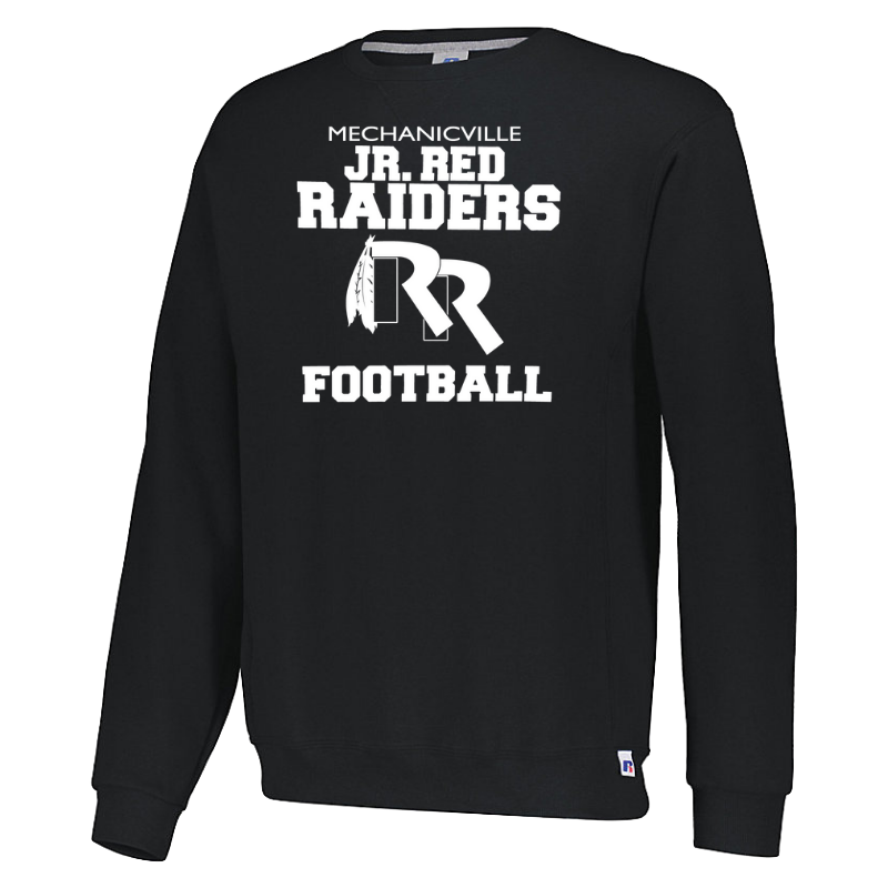Jr Red Raiders Football Crew Neck Sweatshirt- Youth & Adult, 2 Colors