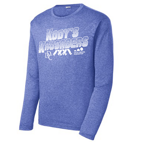 Kody's Krusaders Long Sleeve Performance Tee- Ladies & Men's