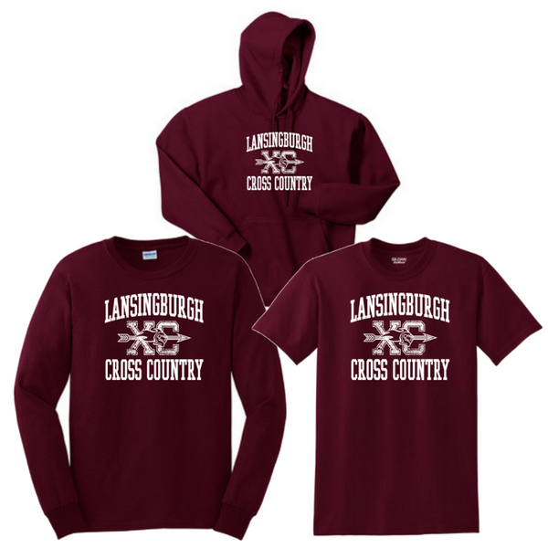 Lansingburgh Cross Country Bundle- Youth & Adult, 3 Colors
