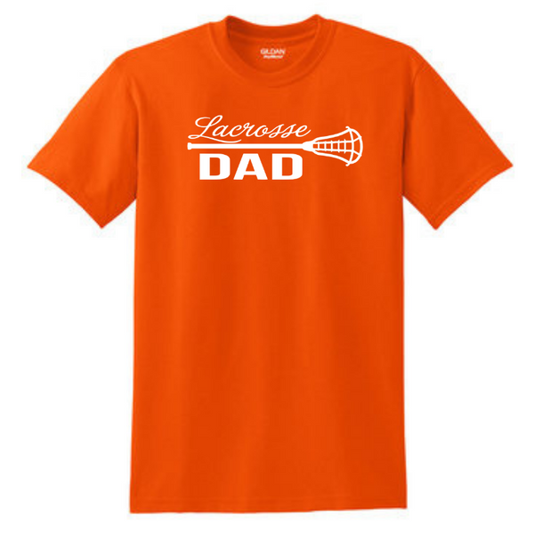 Lacrosse Custom Family Fan T-Shirt- Youth & Adult, 7 Colors