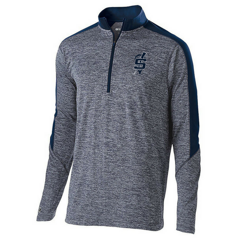 Saratoga Lacrosse Heather 1/4 Zip Pullover- Youth, Ladies, & Men's, 2 Colors
