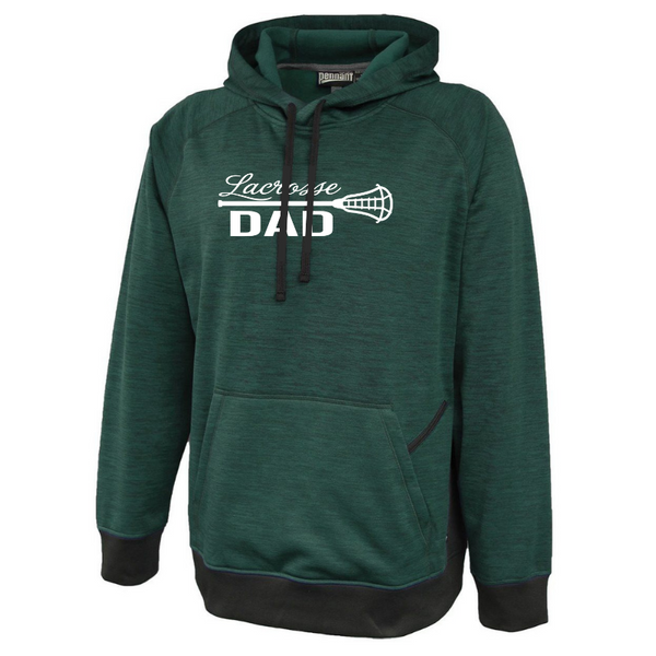 Lacrosse Custom Family Fan Heather Performance Hoodie- 6 Colors