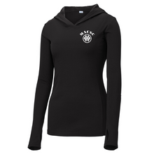 Load image into Gallery viewer, MACSC Hooded Long Sleeve Performance Tee- Youth, Ladies, & Men's, 4 Colors