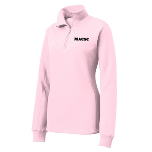 MACSC 1/4 Zip Sweatshirt- Ladies & Men's, 4 Colors