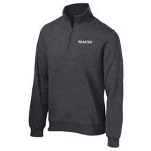 Load image into Gallery viewer, MACSC 1/4 Zip Sweatshirt- Ladies & Men's, 4 Colors