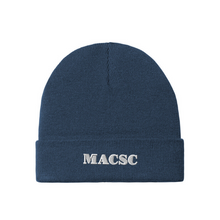Load image into Gallery viewer, MACSC Knit Cuffed Beanie- 5 Colors
