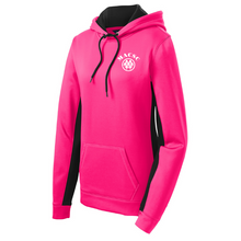 Load image into Gallery viewer, MACSC Colorblock Performance Hoodie- Youth, Ladies & Men's, 4 Colors