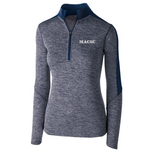 MASCS Heather Lightweight 1/4 Zip Pullover- Youth, Ladies, & Men's, 4 Colors