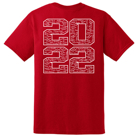Mechanicville Class of 2022 Cotton Tee- Youth & Adult, 3 Colors, 2 Logo Options
