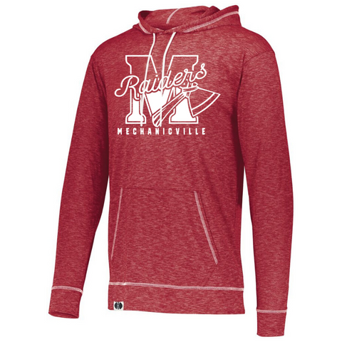 Mechanicville Class of 2022 Lightweight Hooded Long Sleeve- Ladies & Men's, 3 Colors, 2 Logo Options