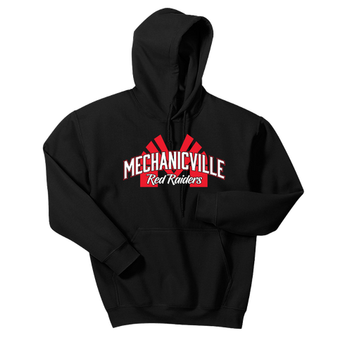 Mechanicville Red Raiders Hoodie- Youth & Adult, 3 Colors