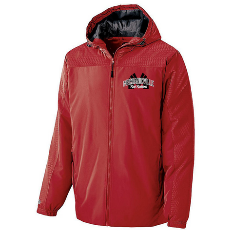 Mechanicville Red Raiders Full Zip Jacket- Youth & Adult, 2 Colors