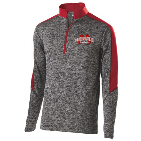 Mechanicville Red Raiders Heather Lightweight 1/4 Zip Pullover- Youth, Ladies, & Men's, 2 Colors