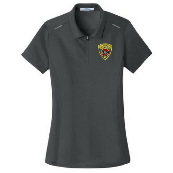 Ladies Pin-Point Mesh Performance Polo- 3 Colors