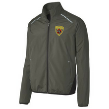 Load image into Gallery viewer, Reflective Full-Zip Polyester Jacket- 3 Colors