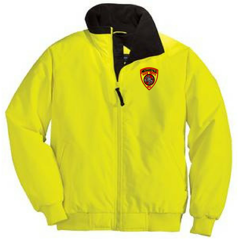 High Visibility Heavy Weight Full Zip Jacket- 2 Colors