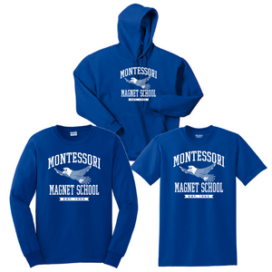 Montessori Cotton Bundle- Youth & Adult, 3 Colors, 2 Logos
