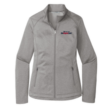 Load image into Gallery viewer, Albany Med EmUrgentCare Diamond Heather Full Zip Jacket- Ladies & Men's, 3 Colors