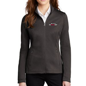 Albany Med EmUrgentCare Diamond Heather Full Zip Jacket- Ladies & Men's, 3 Colors