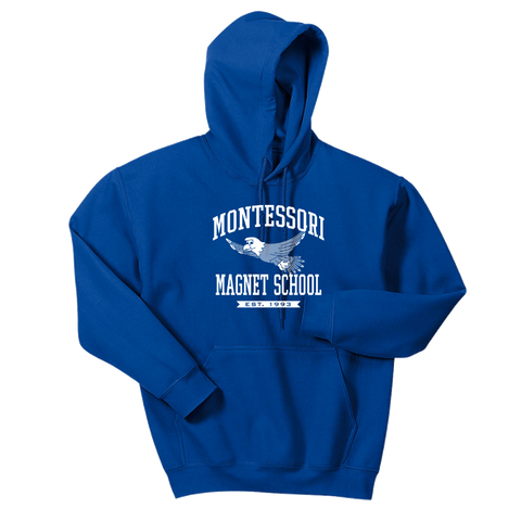 Montessori Hoodie- Youth & Adult, 3 Colors, 2 Logos