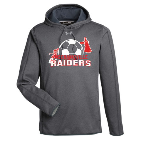 Mechanicville Soccer Under Armour Performance Hoodie- Ladies & Men's, 2 Colors, 2 Logos