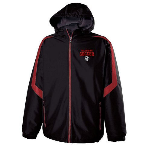 Mechanicville Soccer Hooded Full Zip Jacket- Youth & Adult, 2 Colors