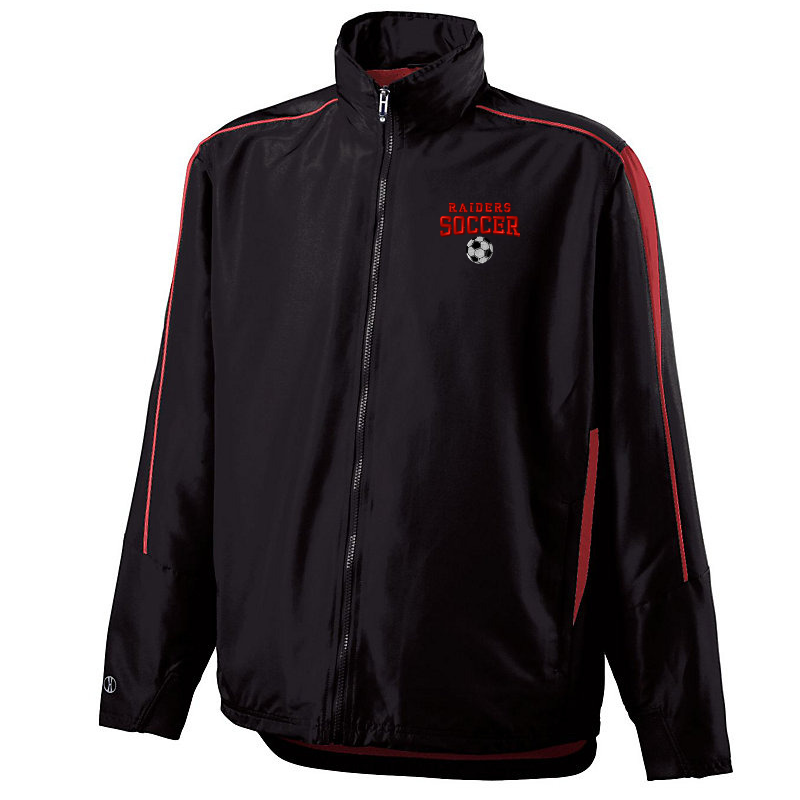 Mechanicville Soccer Hooded Full-Zip Jacket (With Back Vent Flap)- Youth & Adult, 2 Colors