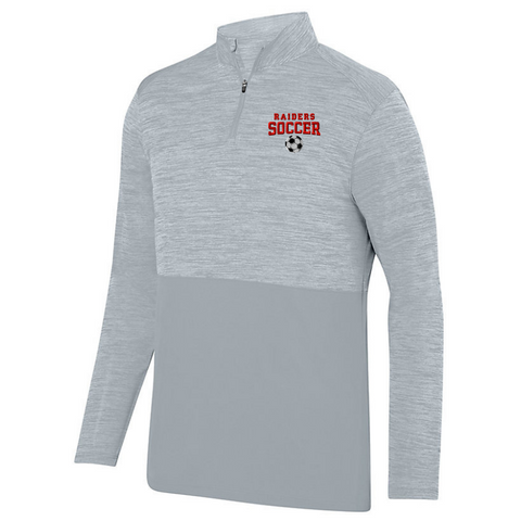 Mechanicville Soccer Lightweight Heather 1/4 Zip Pullover- Ladies & Men's, 3 Colors