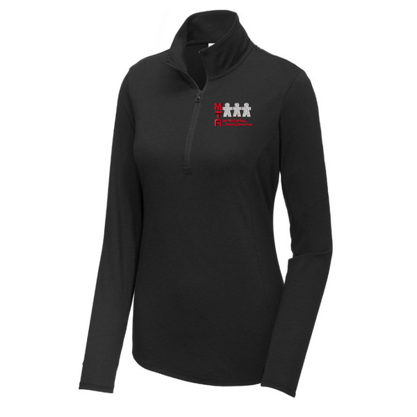 MTA Lightweight Tri-Blend 1/4 Zip Pullover- Ladies & Men's, 3 Colors