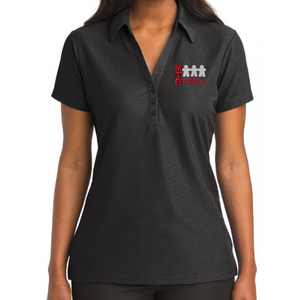 MTA Vertical Texture Performance Polo- Ladies & Men's, 3 Colors