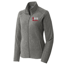 Load image into Gallery viewer, MTA Heathered Full Zip Micro-Fleece- Ladies & Men's, 2 Colors