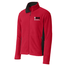 Load image into Gallery viewer, MTA Coloblock Fleece Jacket- Ladies & Men's, 3 Colors