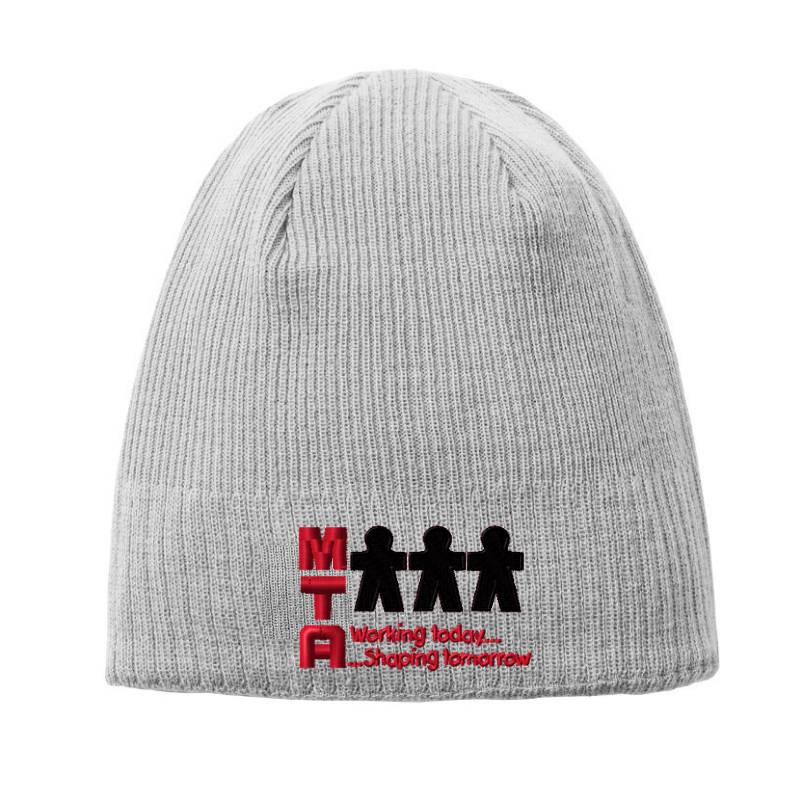 MTA Knit Fleece-Lined Beanie- 3 Colors