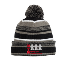 Load image into Gallery viewer, MTA Pom-Pom Beanie- 2 Colors